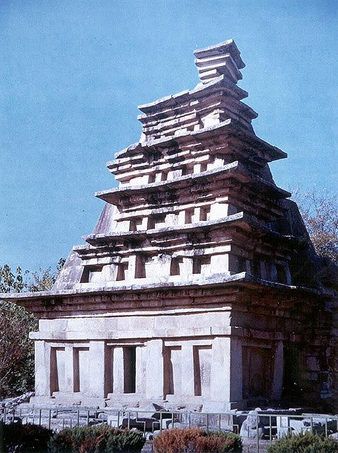 미륵사지석탑. 문화재청 사진