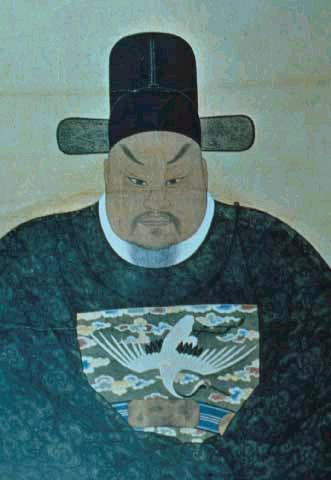 김석주의 영정. 1634(인조 12)-1684(숙종 10). 조선 후기의 문신. 한국민족문화대백과사전 사진