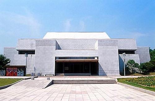 독립기념관 민족전통관. 충남 천안시. 제1전시실 민족전통관. 두산세계대백과사전 사진