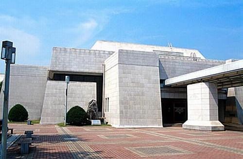 독립기념관 일제침략관. 충남 천안시. 제3전시실 일제침략관. 두산세계대백과사전 사진
