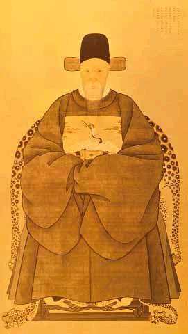 김육 영정. 1580(선조 13)-1658(효종 9). 조선 후기의 문신, 실학자. 한국민족문화대백과사전 사진