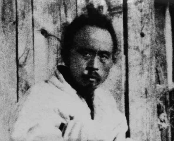잡혀가는 전봉준. 전봉준(1854-1895). 동학농민운동의 지도자. 별명 녹두장군. 한국민족문화대백과사전 사진