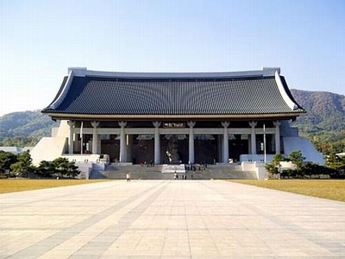 독립기념관 겨레의 집. 충남 천안시 목천면. 두산세계대백과사전 사진