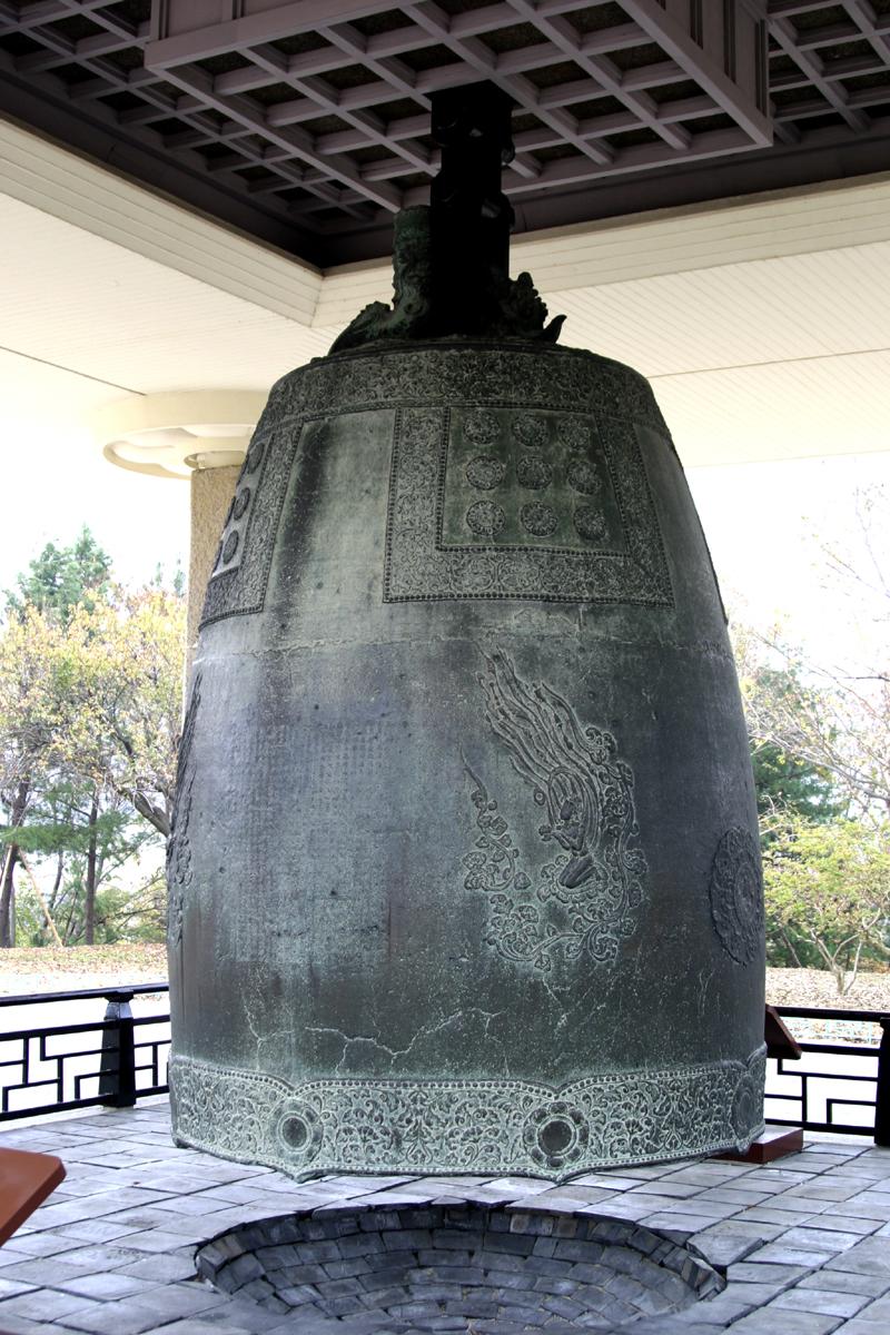 성덕대왕신종 모습. 한국금석문 종합영상정보시스템 사진