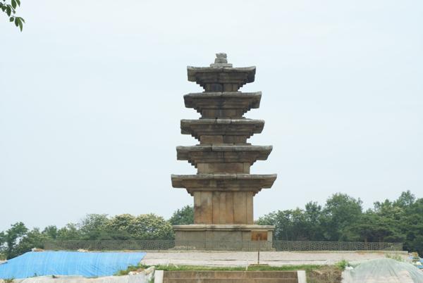 익산 왕궁리 5층석탑 원경 1