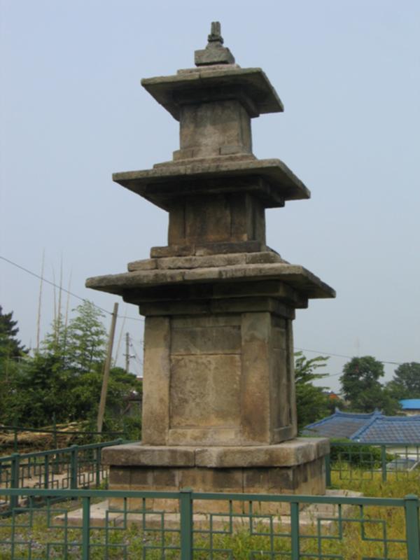 군산 탑동 3층석탑