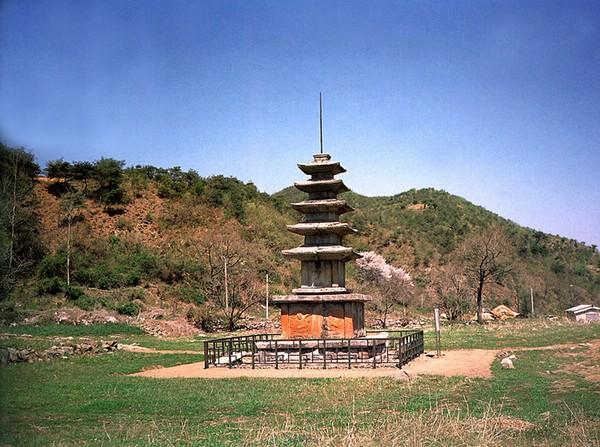 보원사지오층석탑. 문화재청 사진