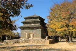 분황사 모전석탑