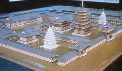 익산 미륵사지 복원 모형