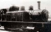 한국에서 운행된 최초의 기관차. 꾸러기세상 사진