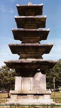 부여 정림사지5층석탑